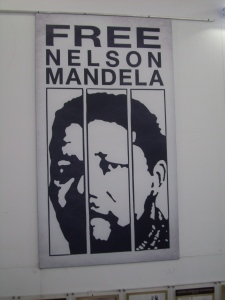 A poster from the Robben Island Museum.