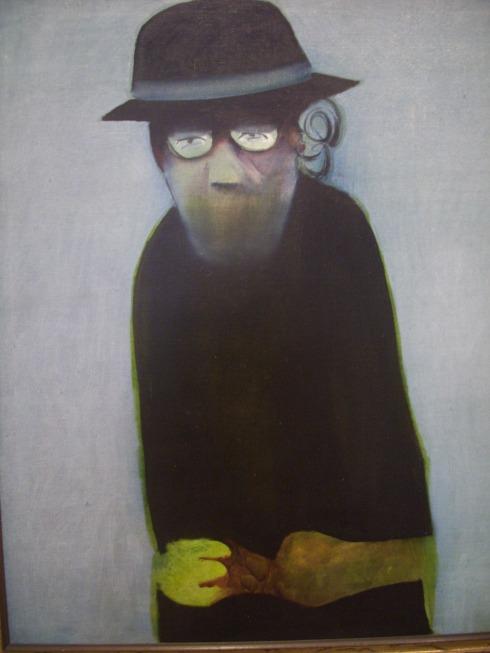 """The Inmate"" (1963), Charles Blackman"