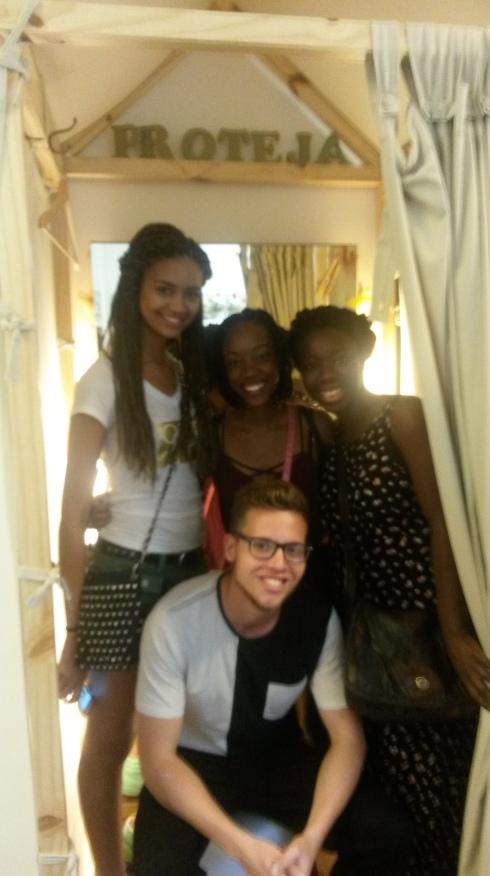 Students at the Mango Tree Hostel