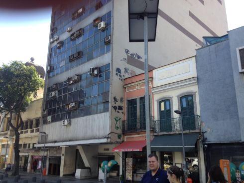 Street scene in Rio