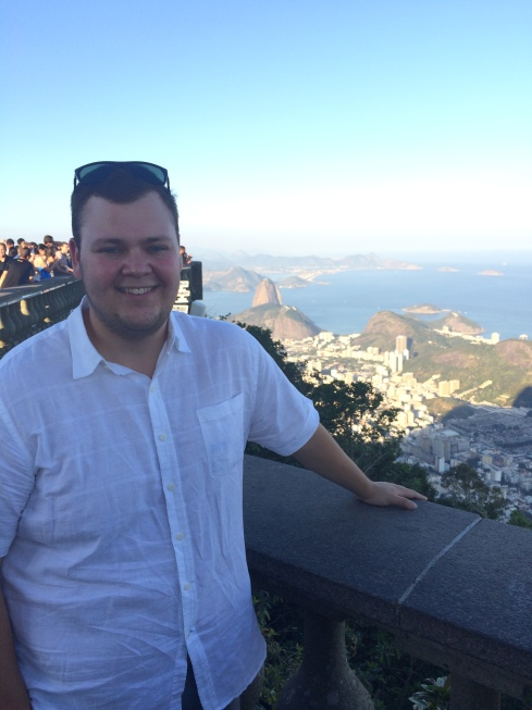 Joe at the Top of the Cristo