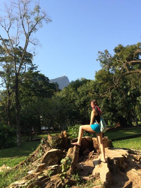 Laurel on Corvocado Mountain