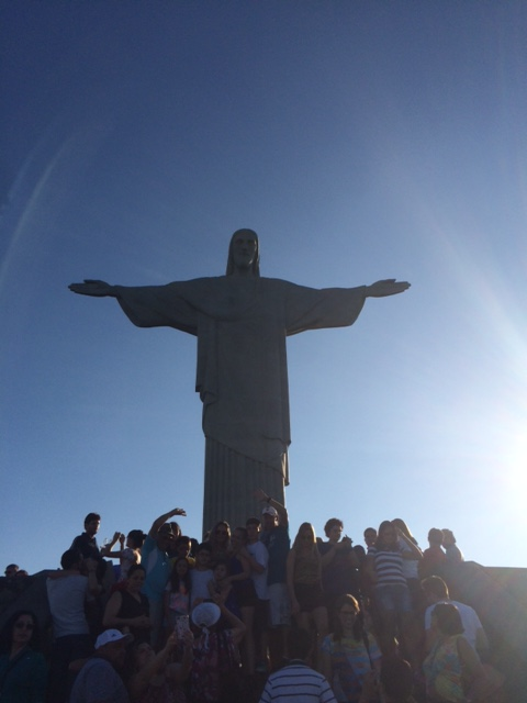 Rio's most famous landmark--Christ the Redeemer